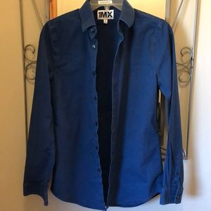 Express Extra Slim Fit Dress Shirt. Size Small